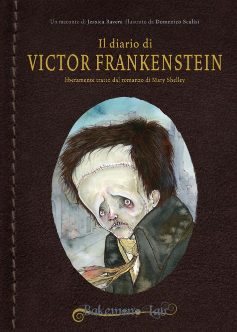 Il diario di Victor Frankenstein - Copertina