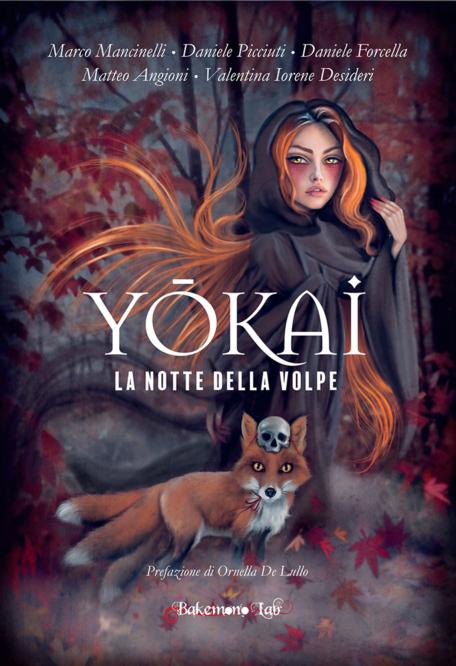 Yokai - La notte della volpe - Copertina