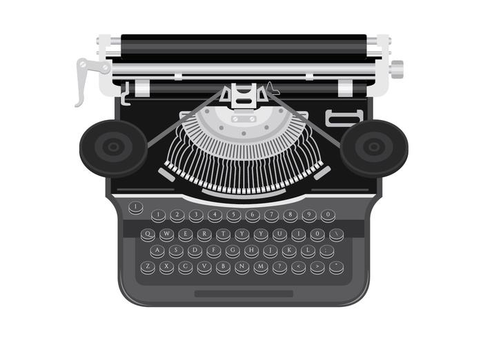 typewriter-vector-illustration
